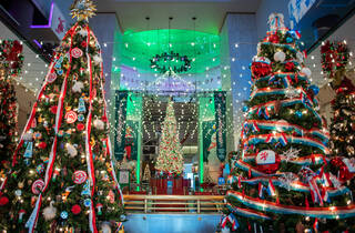 Christmas Around the World exhibit at Museum of Science and Industry