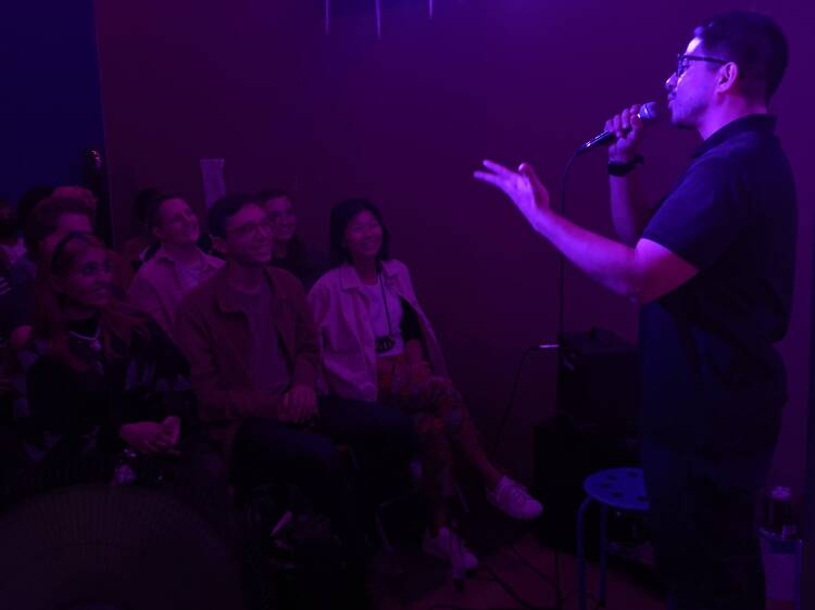 The tiniest comedy room in NYC just opened in Brooklyn