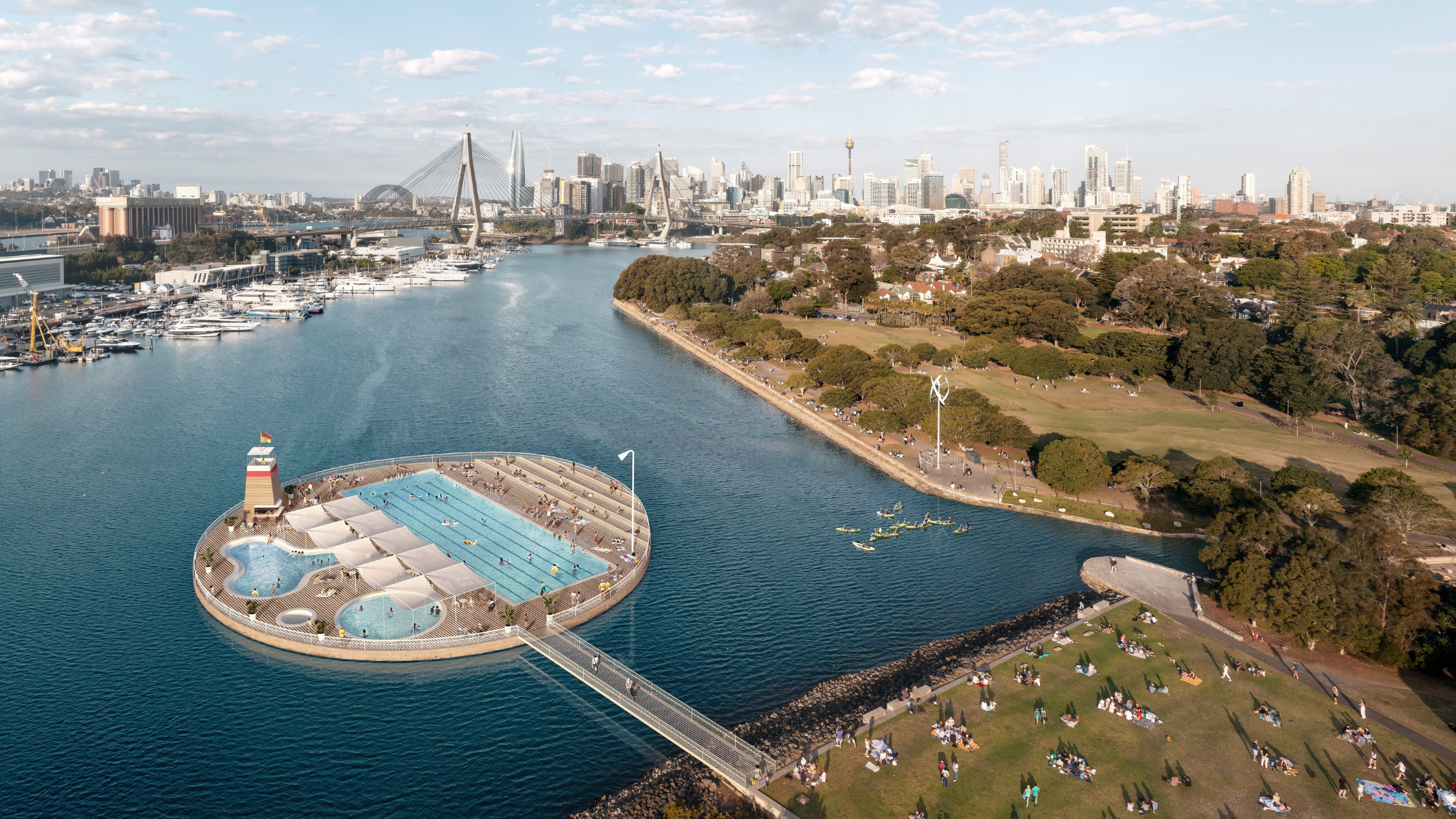 There's an ambitious new plan to make Sydney Harbour into a 'swimmer's paradise'