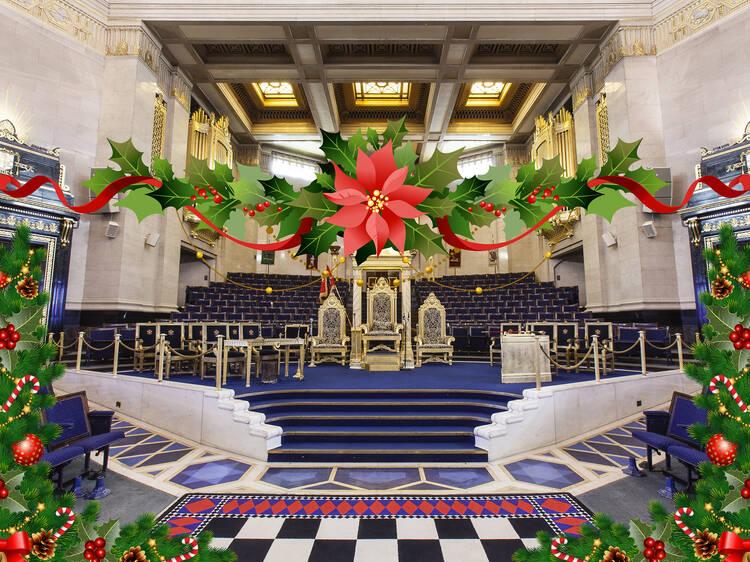 Christmas by Candlelight at the Freemason's Hall