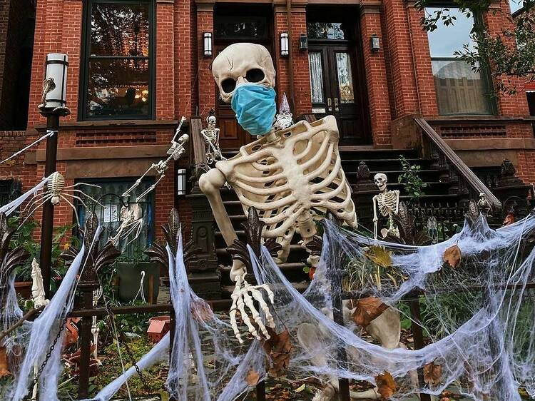 NYC's best Halloween decorations