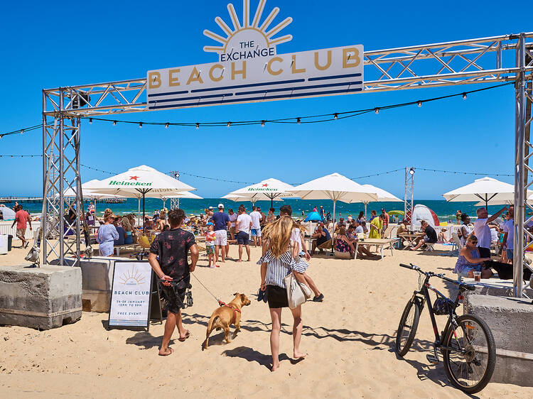The Exchange Beach Club is back