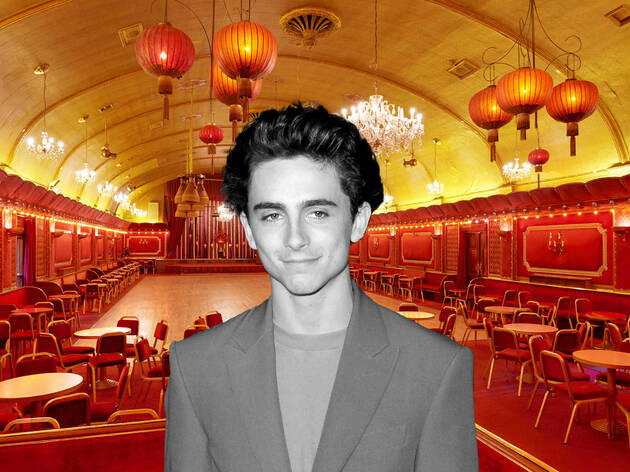 Timothée Chalamet's'Wonka' is filming at the Rivoli Ballroom in Brockley
