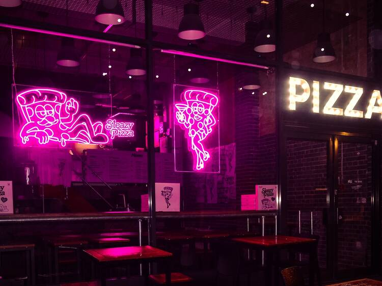 Watch out Eggslut: Sleazy Pizza is the new salacious food name on the block