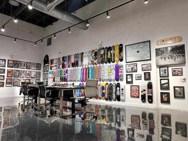 A free pop-up museum dedicated to skateboarding, hip-hop, and punk rock has opened in Montreal