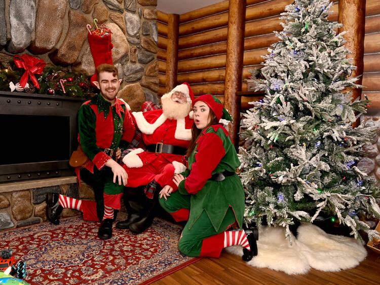 Santa's Grotto at Hamleys
