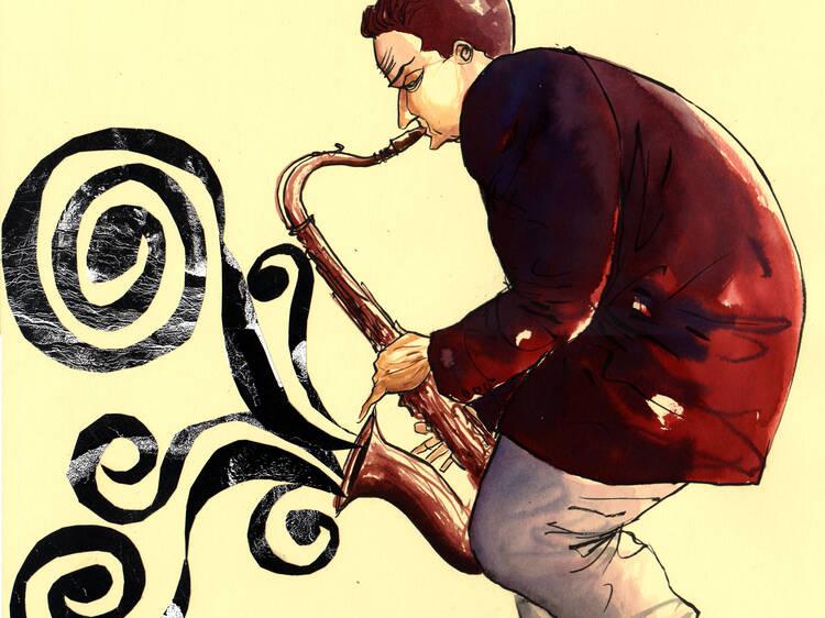 O Jazz na Banda Desenhada