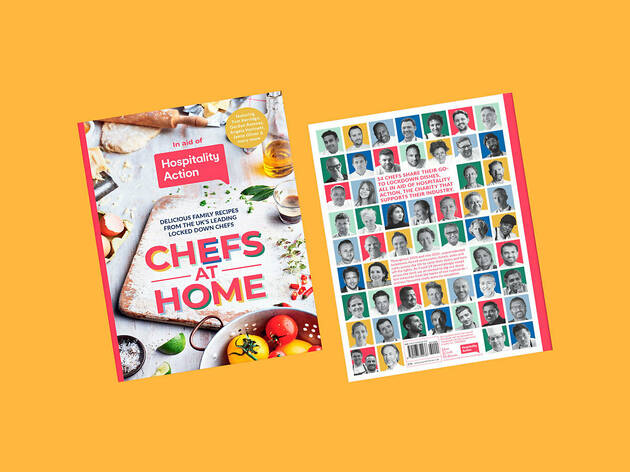 Buying this excellent cookbook is a great way to support London's hospitality industry this Christmas