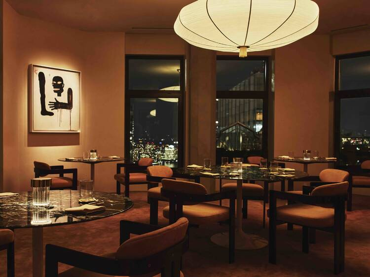 NYC's newest fine dining destination Saga is a three-and-a-half hour moveable feast