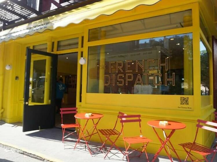 Wes Anderson's The French Dispatch Pop-Up
