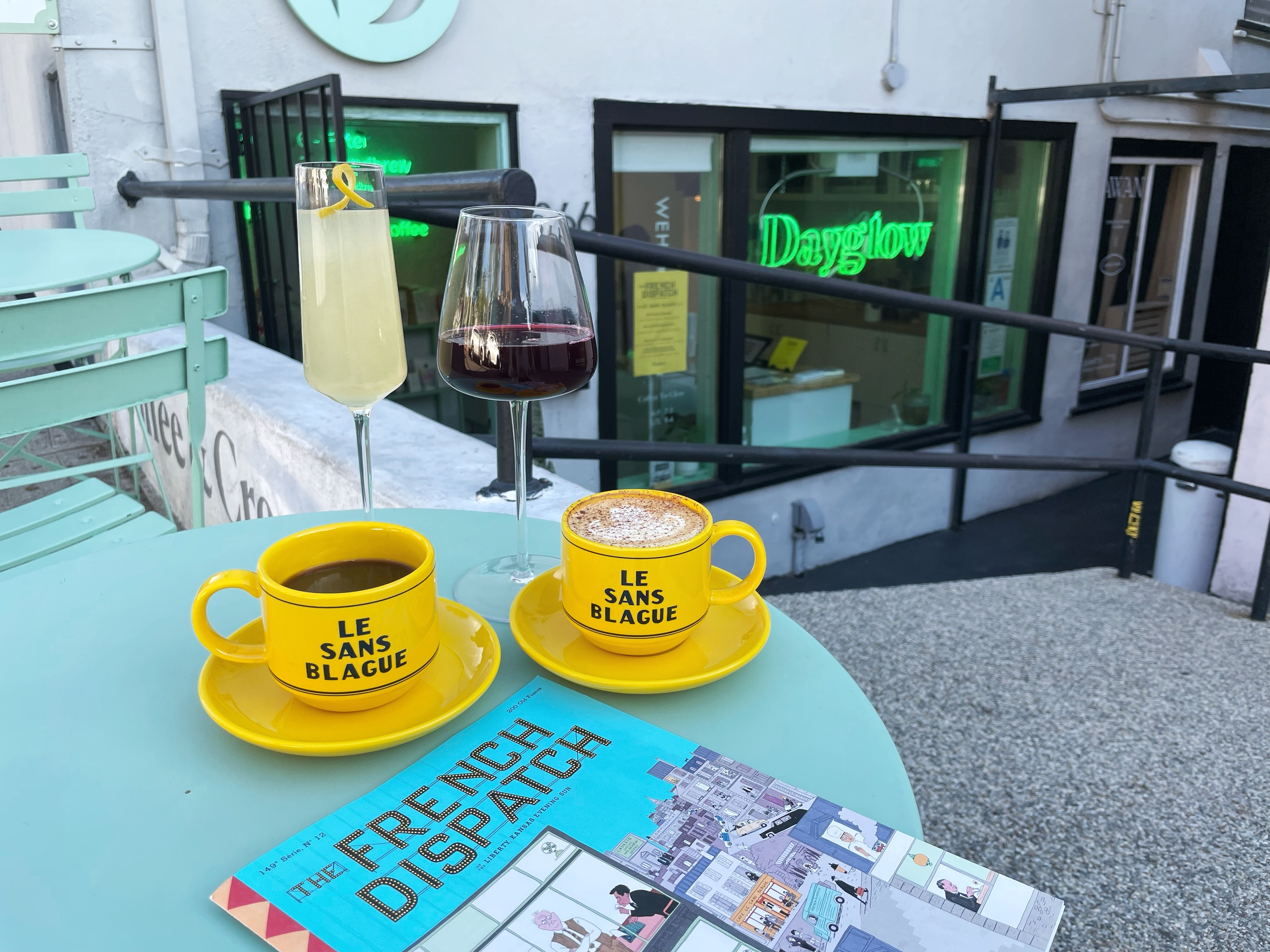 Drink like a Wes Anderson character at this 'French Dispatch' pop-up running through mid-November