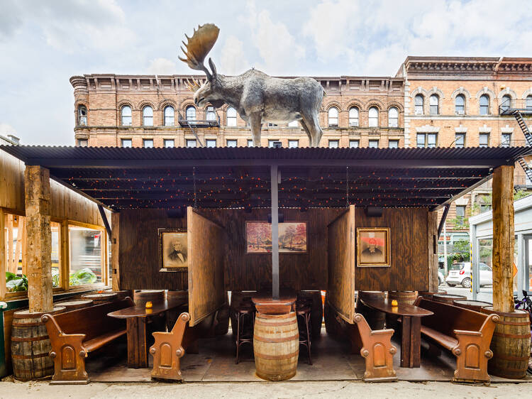 The Instagram Thing: Get a glimpse of nature with this restaurant's mighty moose