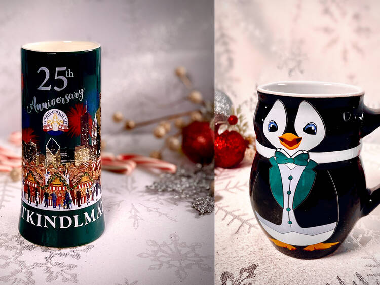 Sadly, this year's Christkindlmarket mug is not a boot