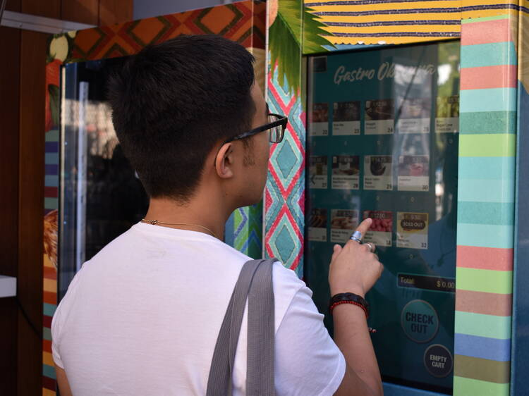 Gastro Obscura Vending Machine
