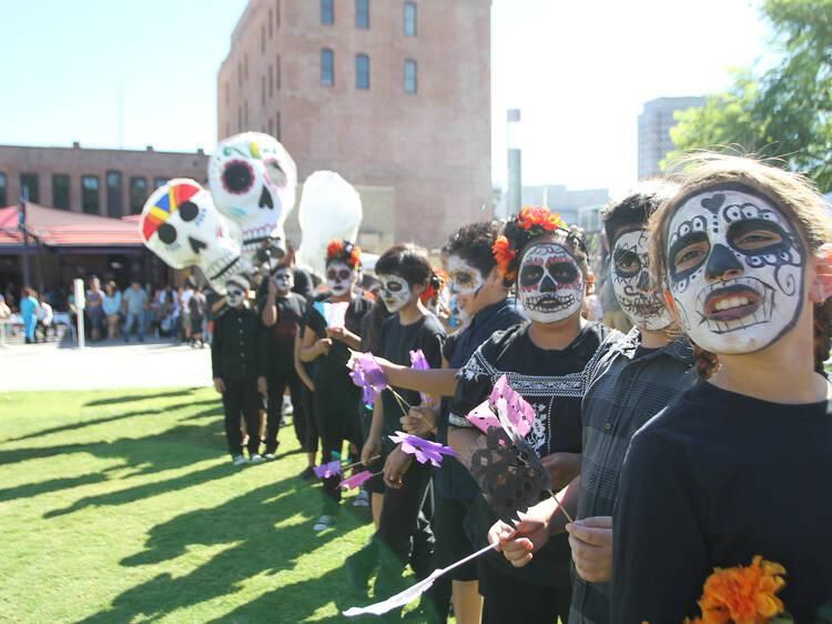 Día de los Muertos at LA Plaza