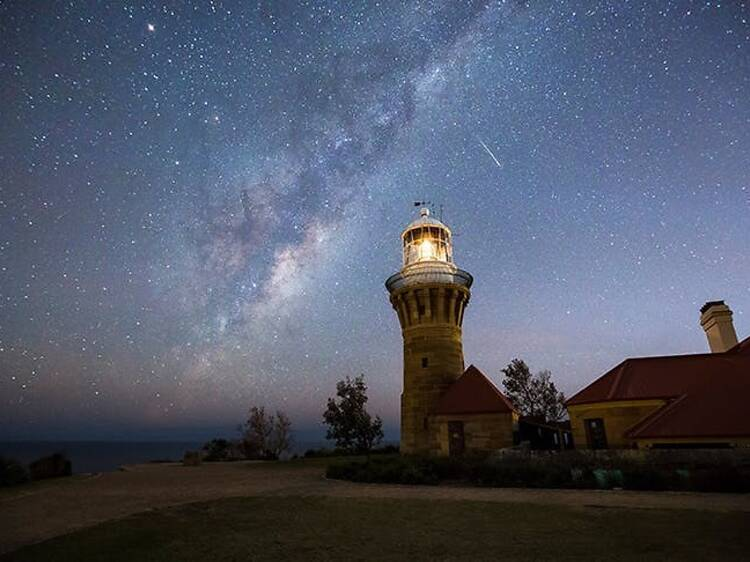 Palm Beach could soon be named Australia's first urban night sky park