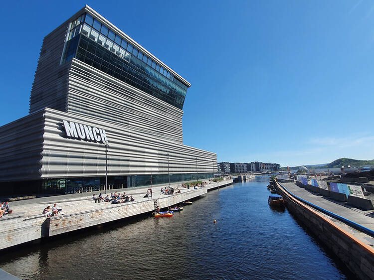 This properly enormous Edvard Munch museum just opened on Oslo's waterfront