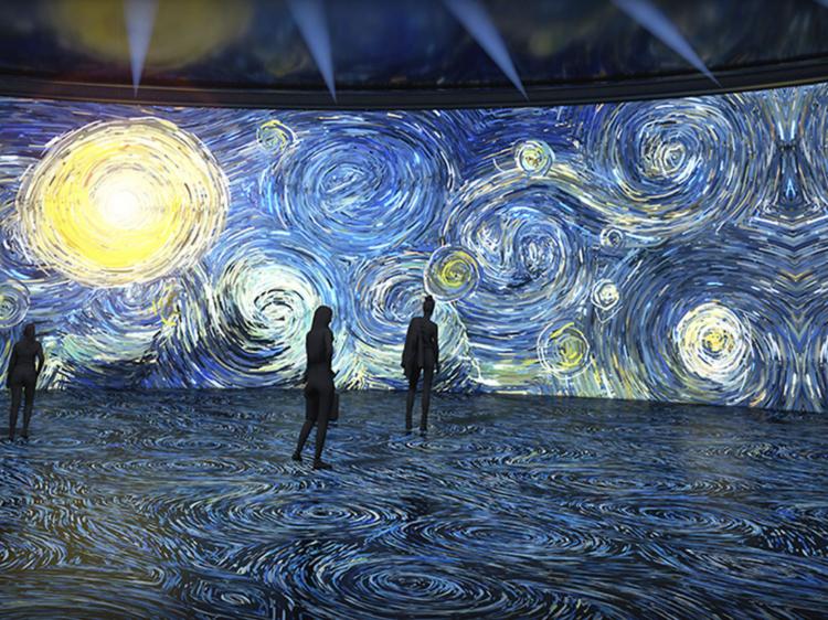 Barcelona tendrá una exposición inmersiva de Van Gogh en noviembre