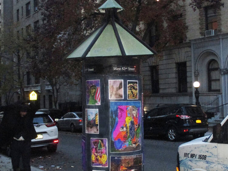 Is the Cylindrical Art Gallery the smallest art gallery in NYC?