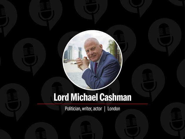 Meet our latest podcast guest: Lord Michael Cashman, politician, writer and actor