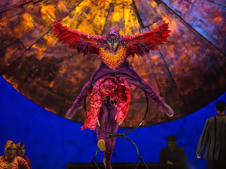 La màgia del Cirque du Soleil torna a l'Hospitalet amb 'Luzia'