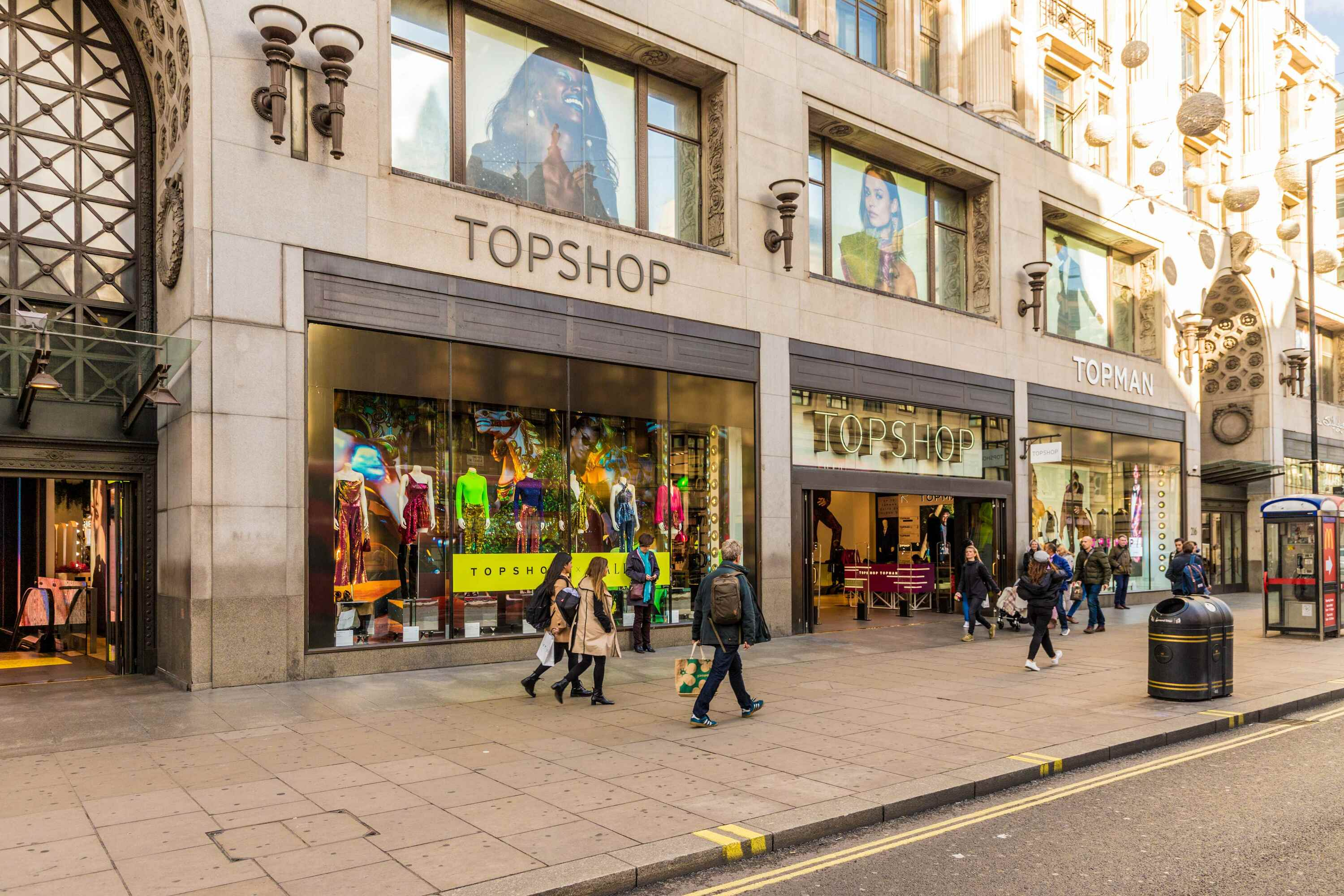 IKEA is officially moving into Oxford Circus' massive Topshop