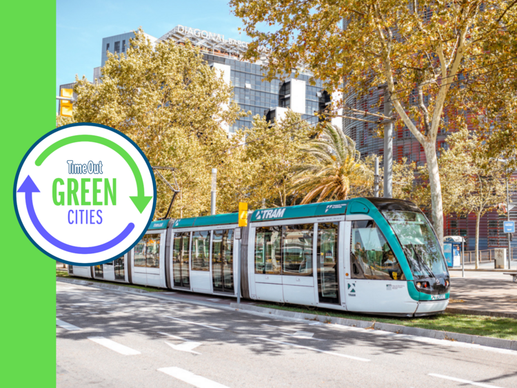 Barcelona is offering free public transport to people who ditch their cars