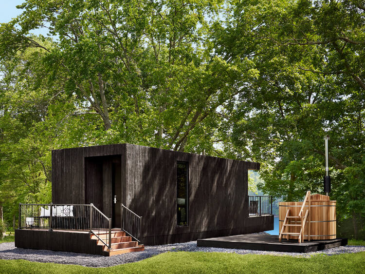 An actual hotel on wheels is opening in the Hudson Valley