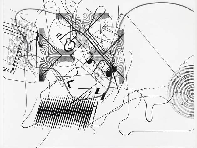 Albert Oehlen_Thomas Dane Gallery_Conduction 8, 2010.jpg