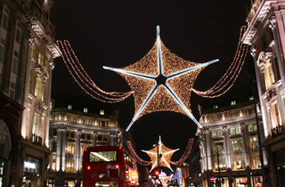 Oxford Street Christmas Lights 2011