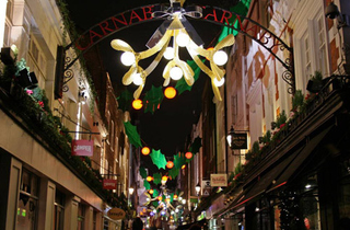 Carnaby Christmas Lights 2011