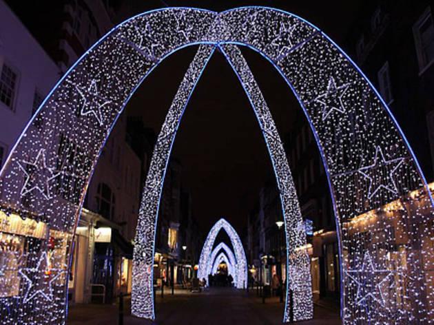 South Molton Street Christmas Lights