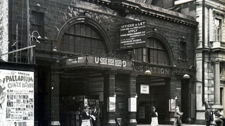 Brompton Road station (© London Transport Museum)