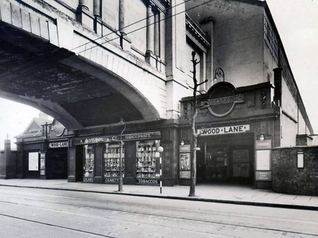Wood Lane Station (© London Transport Museum)