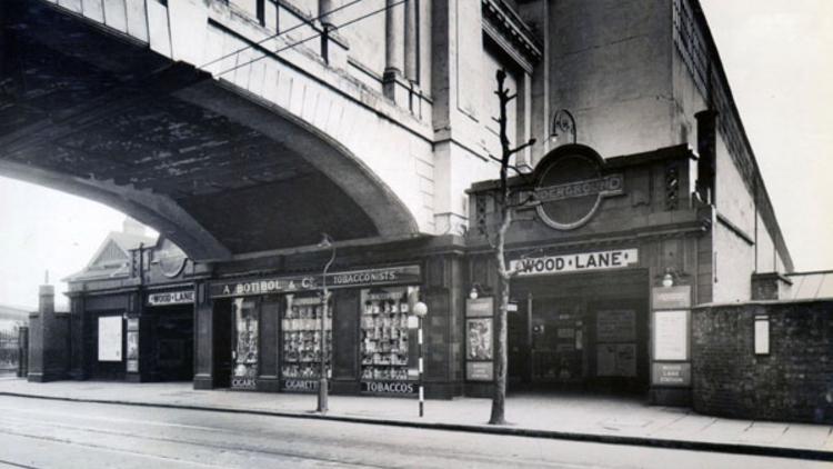 Wood Lane Station (© London Transport Museum)