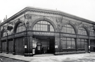 York Road station (© London Transport Museum)