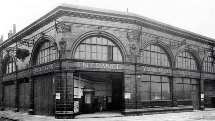 York Road station (© London Transport Museum)