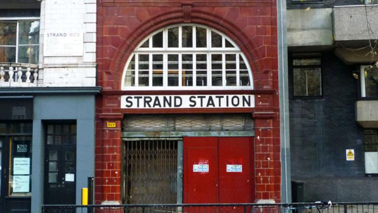 Aldwych station today (© Abigail Lelliott)