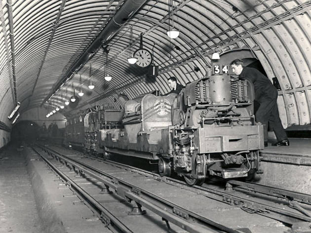 Mail Rail (© Courtesy of the British Postal Museum and Archive)