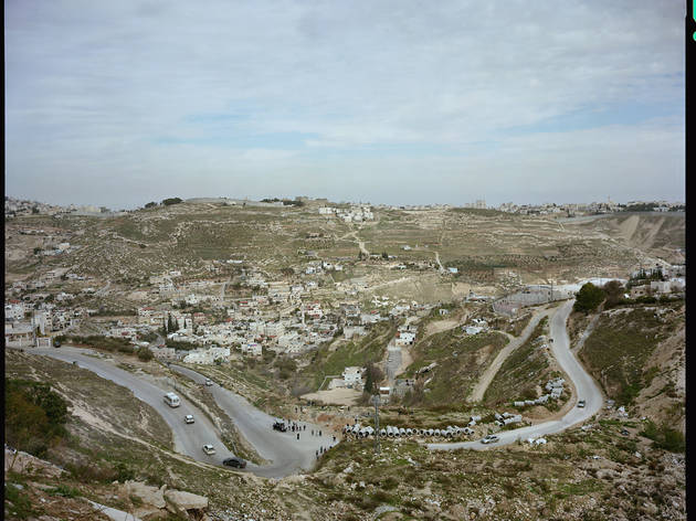 East Jerusalem from the Israeli Settlement of  Nof Zion.jpg