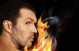 Rhod Gilbert – The Man with the Flaming Battenberg Tattoo