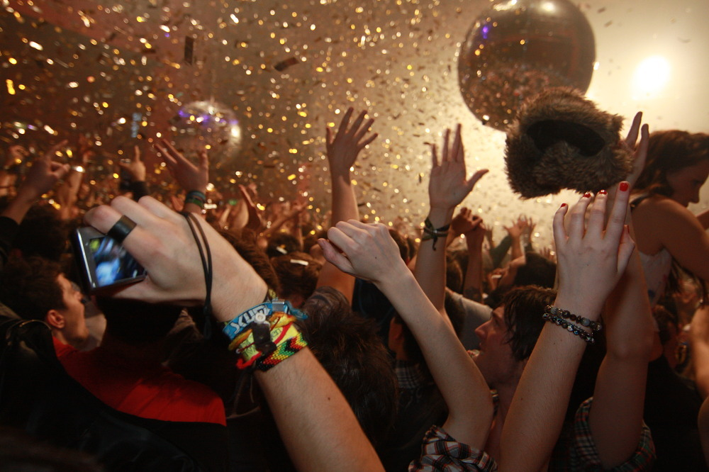 New Year's Eve parties in London