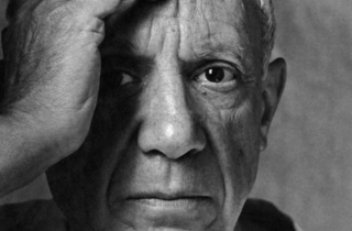 Pablo Picasso, Vallauris, France, 2 June 1954.jpg
