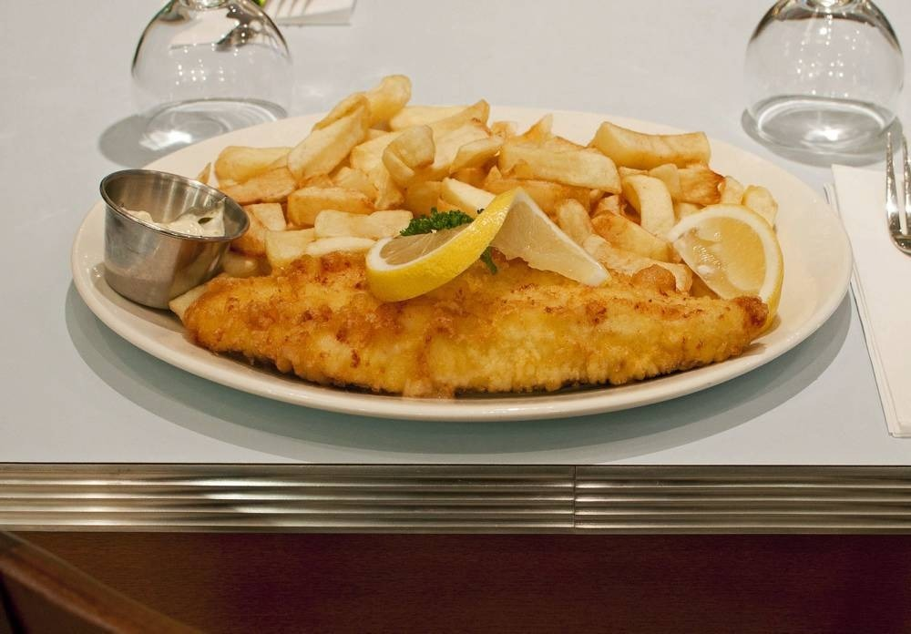 Land a traditional fish supper