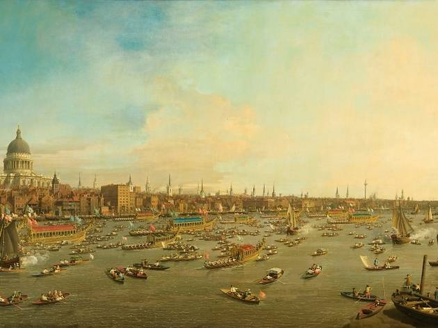 Canaletto London The Thames on Lord Mayor's Day, Looking Towards the City and St Paul's Cathedral.jpg