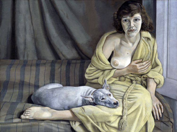'Girl with a White Dog' - Lucian Freud