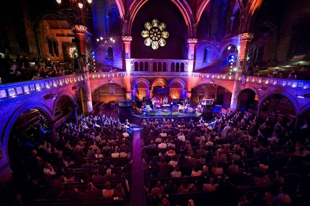 Watch a gig and drink tea at Union Chapel