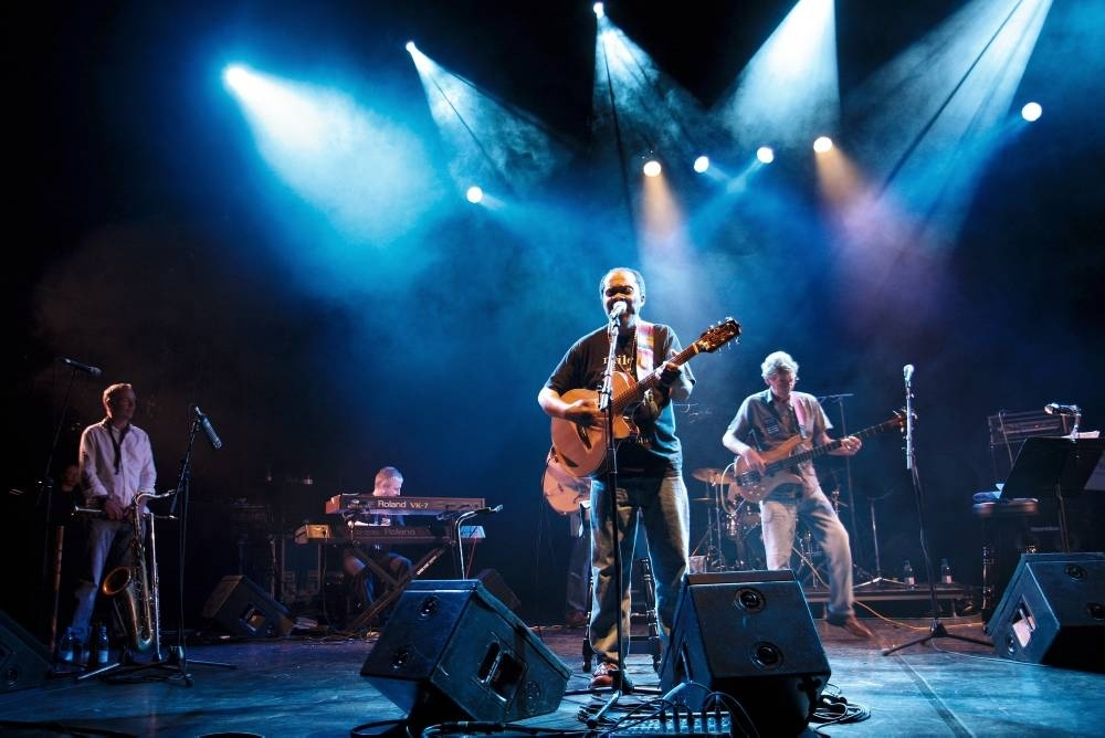 Terrry Carrier performs at the Queen Elizabeth Hall