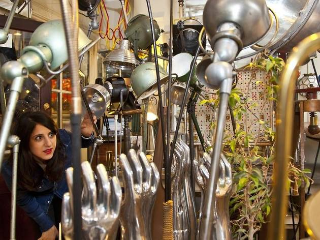 Hunt for treasures at Alfies Antique Market