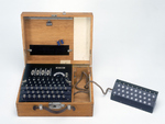 'Four-rotor Enigma cypher machine